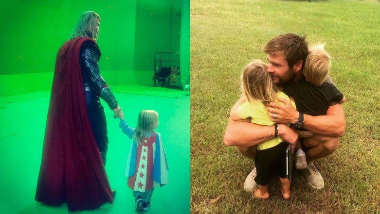 Chris Hemsworth Had The Most Feminist Response To His Daughter Wanting A Pen*s - Watch Video