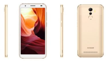 Coolpad Mega 5A Smartphone Launched in India at Rs 6,999; Sale Starts Today