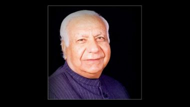 Chhattisgarh Governor Balramji Dass Tandon on Life Support