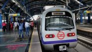 Delhi Metro Train Services on Yellow Line Delayed Due to Passenger on Track at GTB Nagar