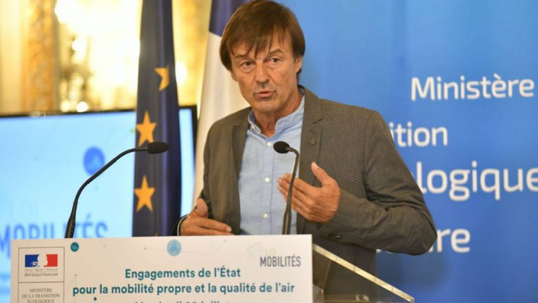 French Environment Minister Nicolas Hulot Announces Resignation On Live Radio