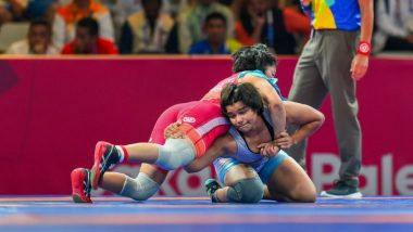 Divya Kakran Wins Bronze Medal in Women's 68kg Freestyle Wrestling at 2018 Asian Games: 20-Year-Old Wrestler Helps India Increase Its Medal Tally to 10