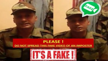 Kerala Floods: Indian Army Refutes Imposter's Claims on Facebook Video; Asks Citizens To Connect Directly Via WhatsApp