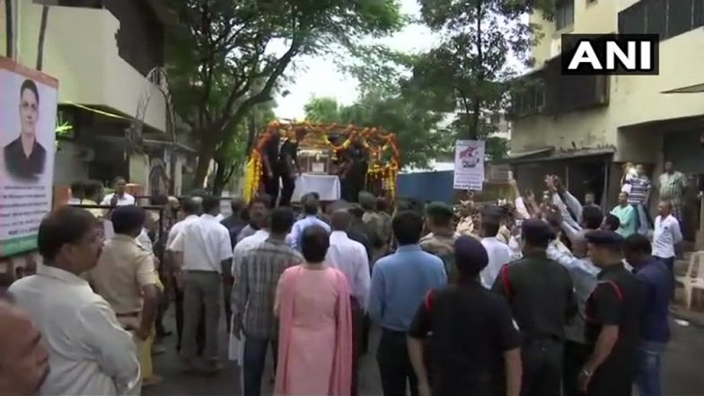 Watch Video: BJP Corporators Attend Birthday Bash in Mira Road Before Major Kaustubh Rane's Body Reaches Home