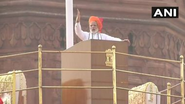 Independence Day 2019: PM Narendra Modi Set to Deliver Sixth Consecutive I-Day Speech on August 15