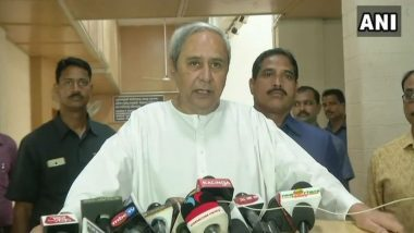 Netaji Subhas Chandra Bose 125th Birth Anniversary: Odisha CM Naveen Patnaik Lays Foundation Stone of New Bus Terminal at 'Janakinath Bhawan' in Cuttack