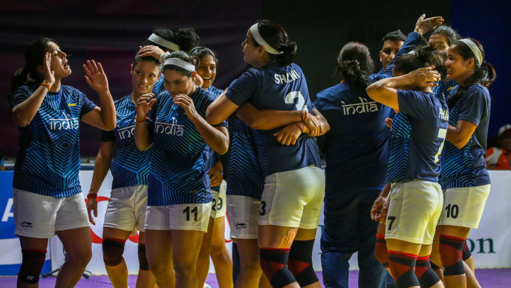 South Asian Games 2019, India vs Nepal Women's Kabaddi Final Live Streaming Online & Time in IST: Check Live Score Online, Get Free Telecast Details of IND vs NEP Kabaddi Match on TV