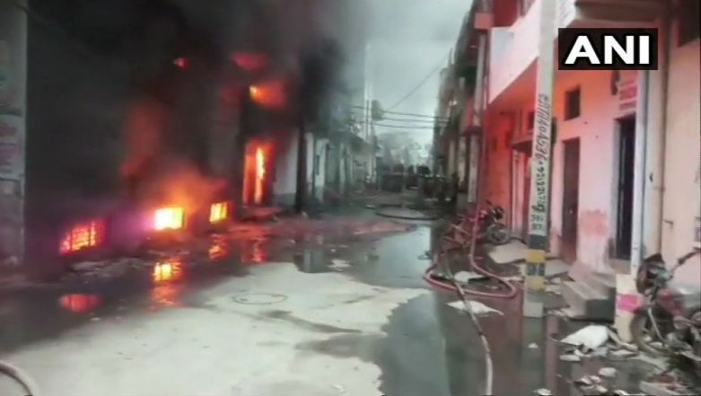 Major Fire Breaks Out At Plastic Factory in Delhi, No Casualty Reported