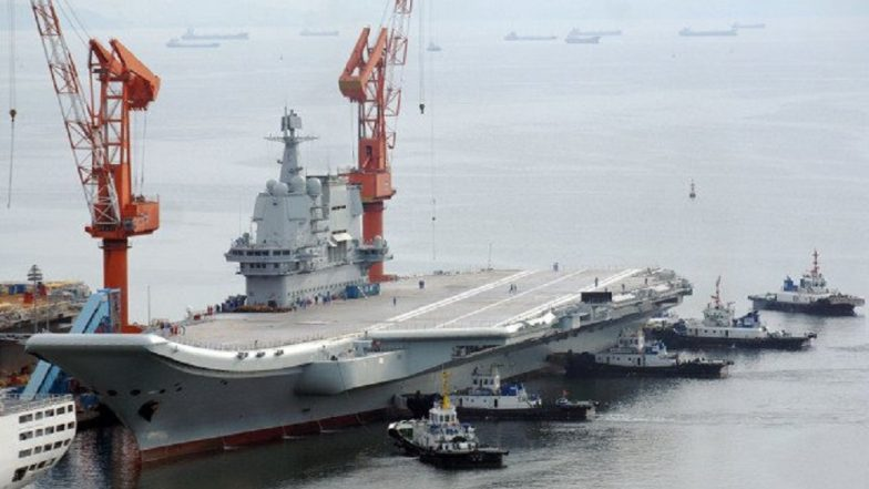 China's First Indigenously Designed Aircraft Carrier Embarks On Sea Trials, Likely To Be Inducted in 2019