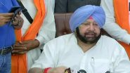 Navjot Singh Sidhu Resignation: Captain Amarinder Singh Takes Dig at Congress, Says 'I Told You So, He is Not A Stable Man'