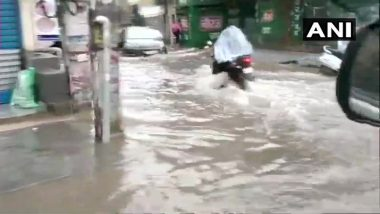 Rains Lash Delhi NCR; Waterlogging At Several; Reports of Traffic Jam In Parts Of Gurugram
