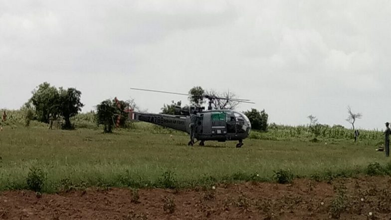 Chetak Helicopter Crash Lands At INS Rajali In Tamil Nadu During Training Sortie; All Crew Members Safe