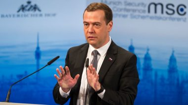 Russian Prime Minister Dmitry Medvedev Warns US Against Ramping Up Sanctions