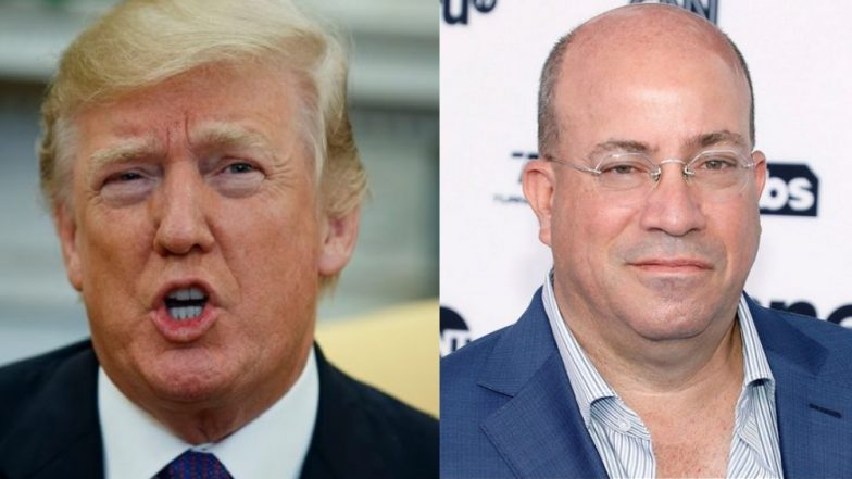 Donald Trump Attacks CNN, Says President Jeff Zucker Should Be Fired