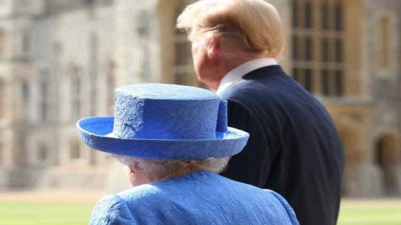 Fact Check: Donald Trump Is Still Talking About His Visit with Queen Elizabeth, Says He Was Made To Wait For Her For 15 Minutes