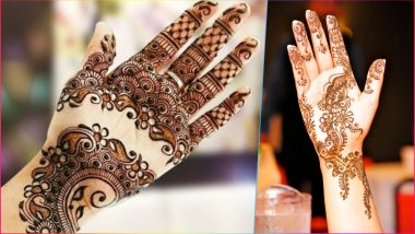 Simple Mehndi Designs for Eid Al-Adha 2018: Apply Easy Mehandi Patterns to Celebrate Bakra Eid on August 22 (Watch Videos to Learn)