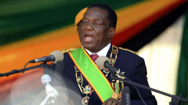 Emmerson Mnangagwa Officially Sworn in as Zimbabwe President