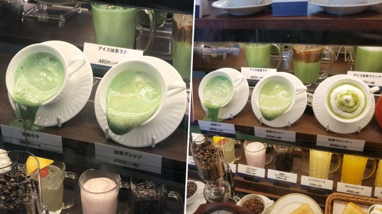Extreme Summer in Japan is Melting Plastic Food Displayed in Restaurants Due to High Temperatures