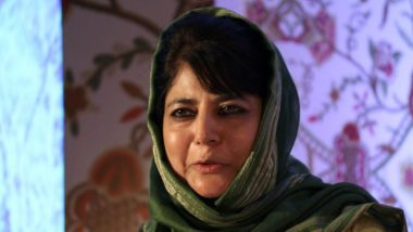 Mehbooba Mufti's Pitch For Solution in Kashmir: 'Engage With Pakistan, Take up Imran Khan's Invite'