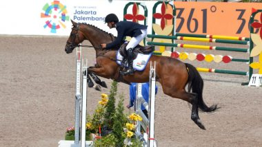 Fouaad Mirza at Tokyo Olympics 2020, Equestrian Live Streaming Online: Know TV Channel & Telecast Details for Dressage Session 3 Coverage
