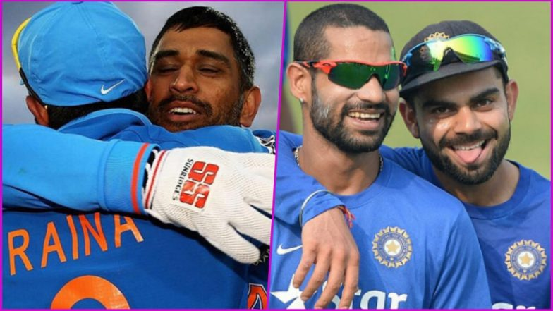 Friendship Day 2018 Cricket Special: Virat Kohli-Shikhar Dhawan and Other BFFs in Indian Team That Will Give You Friendship Goals!