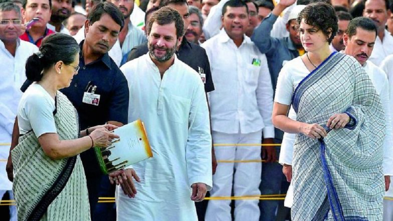 Congress Transition Post Sonia Gandhi: Priyanka Gandhi Vadra Gets Room at AICC Next to Rahul Gandhi
