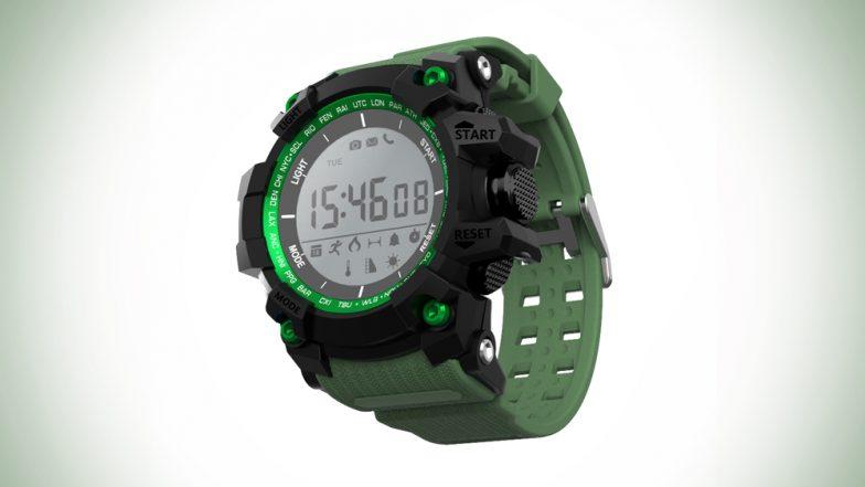 Sanzar Futureteq Introduces Gekko GX1 Hybrid Smartwatch in India at Rs 4,995