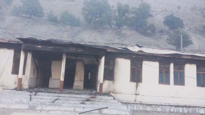 12 Girls' Schools Burnt Down Overnight in Gilgit-Baltistan's Diamer District