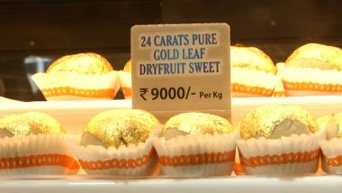 Buying Sweets for Raksha Bandhan? Sweet Shop in Surat Sells 'Gold Sweets' for Rs 9000 per Kg