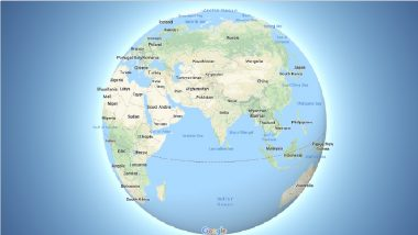 Updated Google Maps Desktop Version Now Has A 3D Globe Mode View