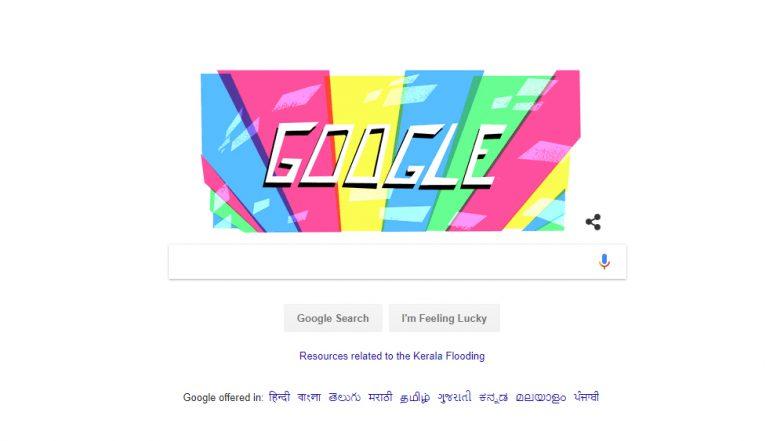 2018 Asian Games Jakarta Palembang: Google Doodle Celebrates the Start of the 18th Asian Games