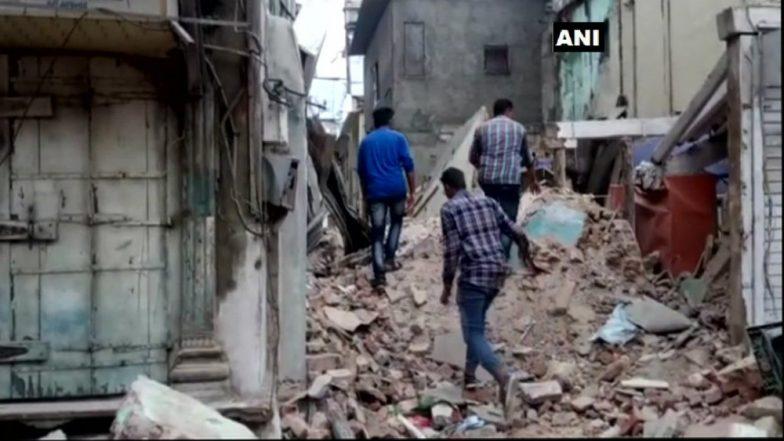 Gujarat: Three-storeyed Building Collapses in Vadodara; 1 Dead
