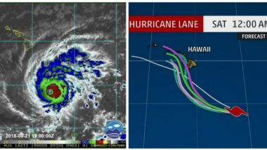 Hurricane 'Lane' Intensifies to Category 5; Hawaii Faces Risk of Flash Floods, Mudslides