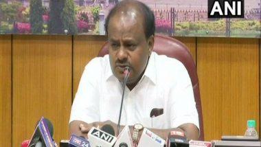 Rafale Deal: Karnataka CM HD Kumaraswamy Asks Why Modi Government Failed to Protect HAL's Interests