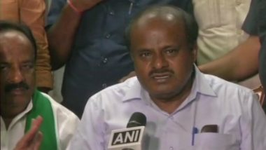 Karnataka CM H D Kumaraswamy Asks People to Reject Voices Demanding State's Division