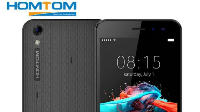 Chinese Brand HOMTOM Debuts in India With 3 Smartphones H1, H3 and H5 With Best Budget