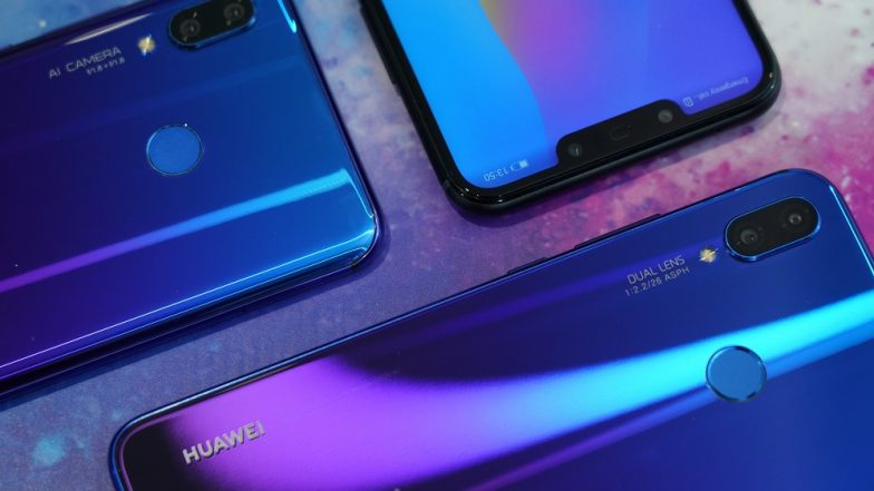 Huawei Nova 3 & Nova 3i Smartphones Sale Starts August 7 Exclusively on Amazon