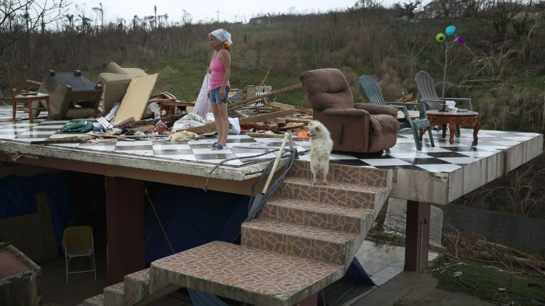 Donald Trump Visits Areas Affected by Hurricane Florence, Promises Residents Aid