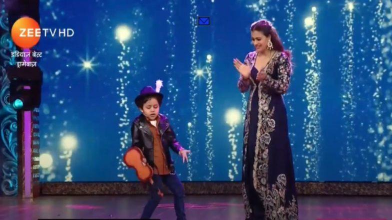 India's Best Dramebaaz Written Episode Update, August 19, 2018: Kajol Recreates DDLJ Scene, This Time With a Cute Little 'Raj'