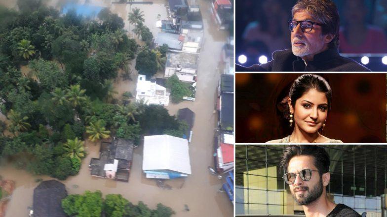 Kerala Floods: Amitabh Bachchan, Shahid Kapoor, Varun Dhawan, Anushka Sharma Urge India To Help The Disaster-Struck People In the State - Read Tweets