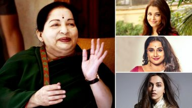Jayalalithaa's Biopic to Star Deepika Padukone or Vidya Balan and NOT Aishwarya Rai Bachchan Who Was Amma's First Choice?