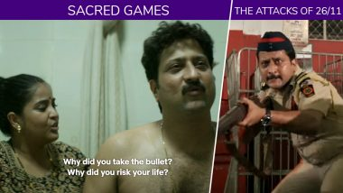 Sacred Games' Katekar Who Took a Bullet Shot Was Actually Present in 'The Attacks of 26/11'!