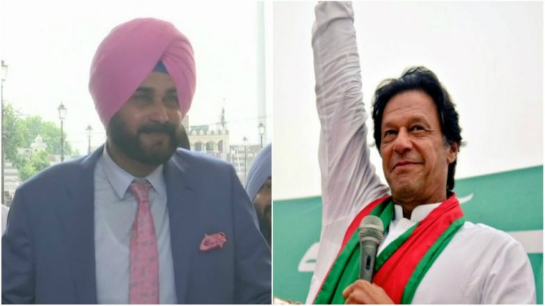 Navjot Sidhu Arrives in Pakistan to Attend Imran Khan's Oath Taking Ceremony