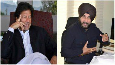 Navjot Singh Sidhu Accepts Pakistan PM Imran Khan's Invitation to Kartarpur Corridor Inauguration Ceremony