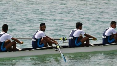 Dattu Bhokanal-led Indian Rowing Team Wins GOLD Medal in  Men's Quadruple Sculls at Asian Games 2018, India's Medal Tally 21!
