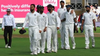 India to Play First Test Against West Indies on October 4 at Rajkot