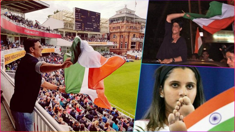 Indian Celebs Who Disrespected National Flag! From Akshay Kumar, Sania Mirza to Shah Rukh Khan, Stars Who Got in Trouble for Insulting Tiranga (See Pics)