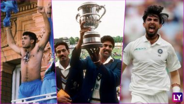 Ahead of India vs England Lord's Test Match 2018, Relive Indian Cricket Team's Memorable Moments at the Mecca of Cricket (Watch Videos)