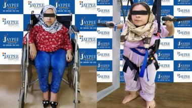 Iraqi Girl Walks After 16 Years Post Successful Treatment In India