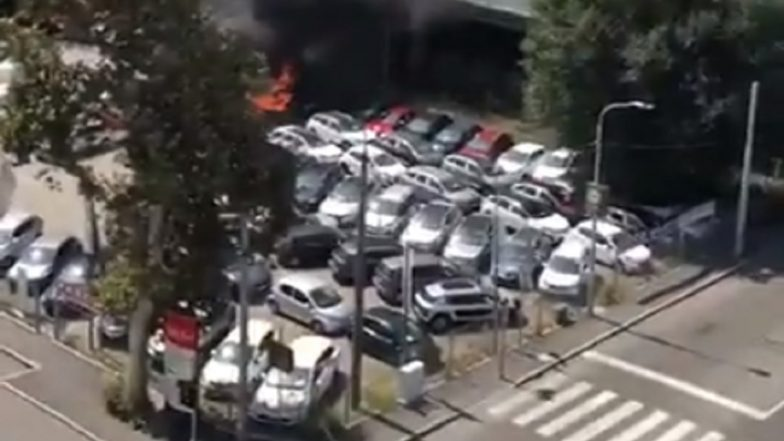 Italy: Huge Explosion Near Bologna Airport After Road Mishap, Casualties Feared